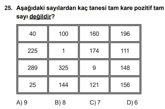 8.Sınıf İzmir Çalışma Fasikülleri Soruları